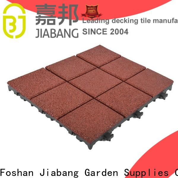 highly-rated interlocking rubber mats flooring low-cost for wholesale