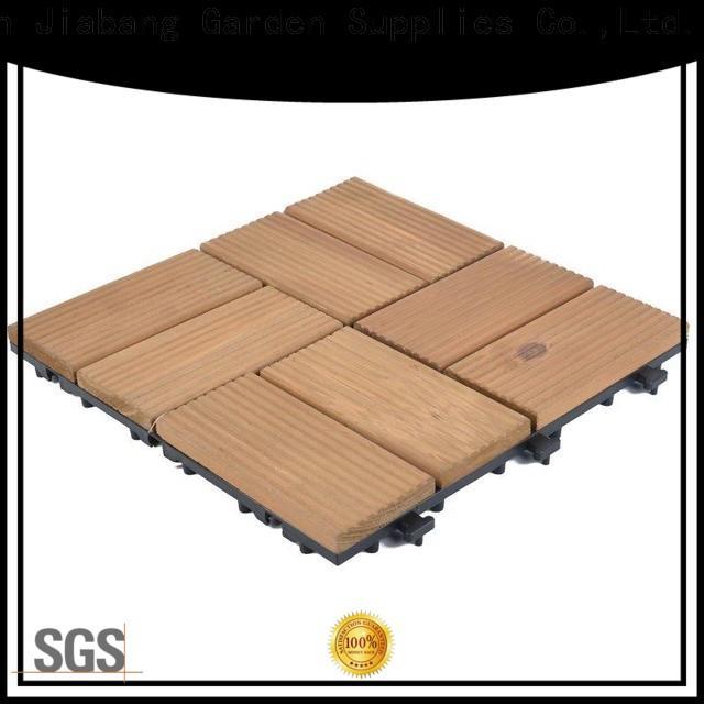 adjustable wood deck panels outdoor flooring for garden