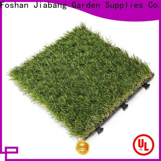 JIABANG chic design deck tiles on grass easy installation for customization