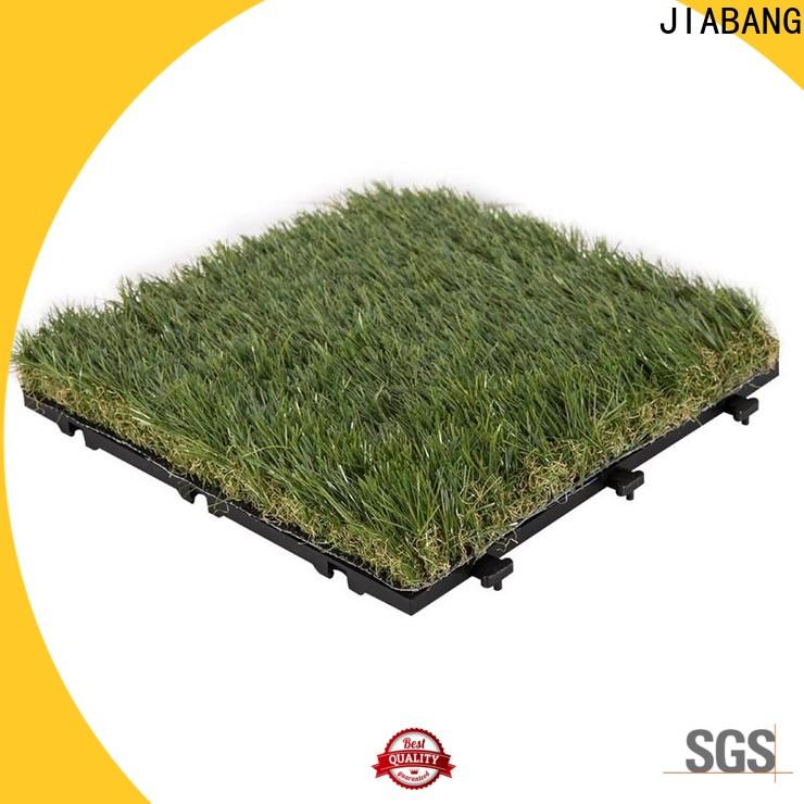 JIABANG artificial grass turf tile hot-sale for wholesale