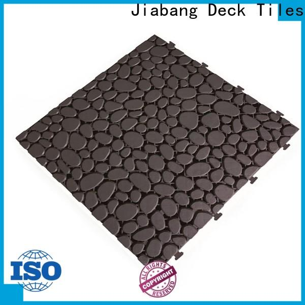 JIABANG hot-sale outdoor plastic tiles non-slip