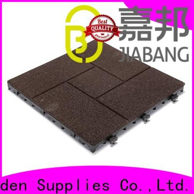 JIABANG playground interlocking rubber gym mats light weight at discount