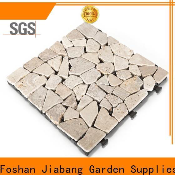 JIABANG diy travertine deck tiles at discount from travertine stone