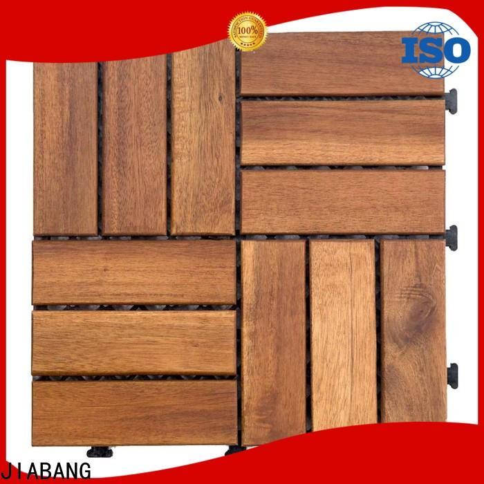 JIABANG acacia wood tile flooring low-cost at discount