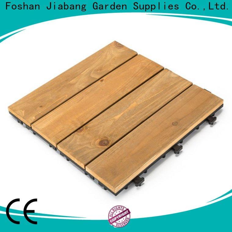 JIABANG refinishing modular wood decking chic design for garden
