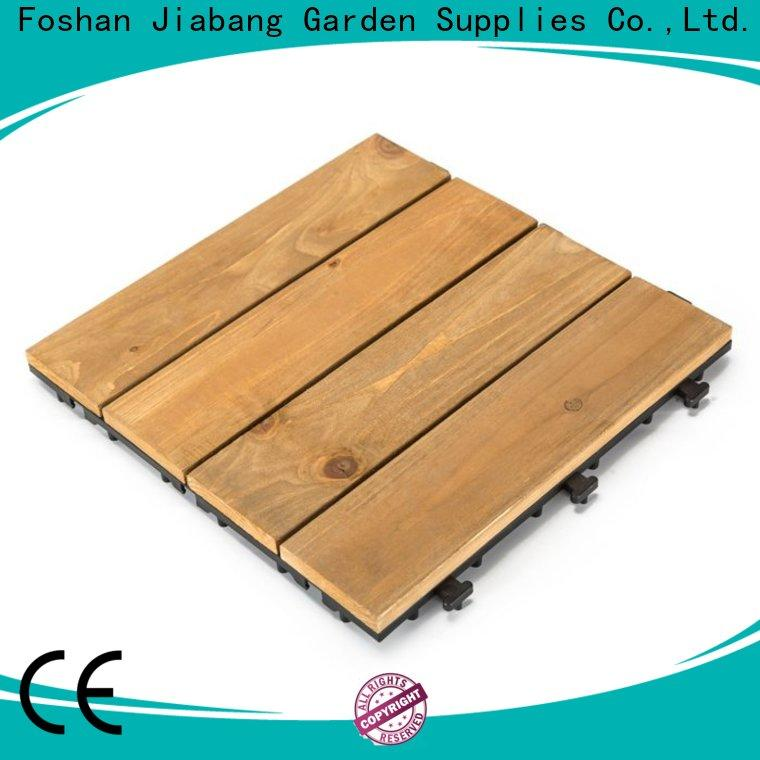 JIABANG refinishing modular wood decking chic design for garden