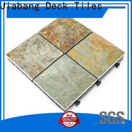 JIABANG diy real stones dark gray slate floor tile floor decoration floors building