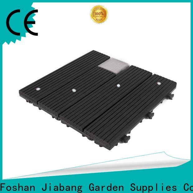 JIABANG led snap together deck tiles garden lamp