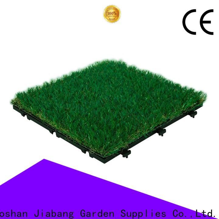 JIABANG landscape interlocking deck tiles on grass garden decoration