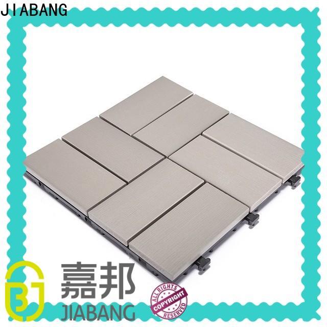 JIABANG durable plastic patio flooring tile popular garden path