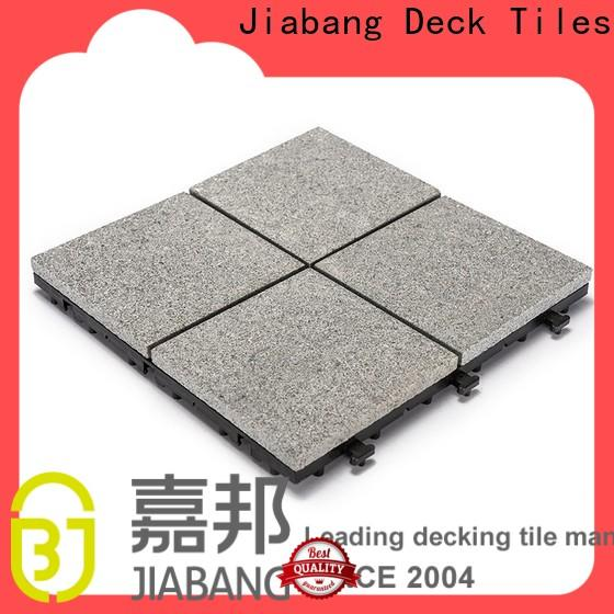 highly-rated interlocking granite deck tiles low-cost factory price for porch construction