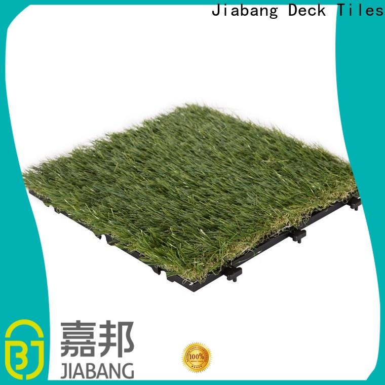 JIABANG artificial grass tiles easy installation for wholesale