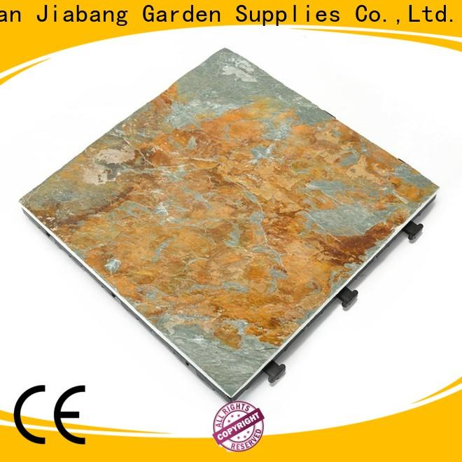 JIABANG waterproofing external slate tiles garden decoration for patio