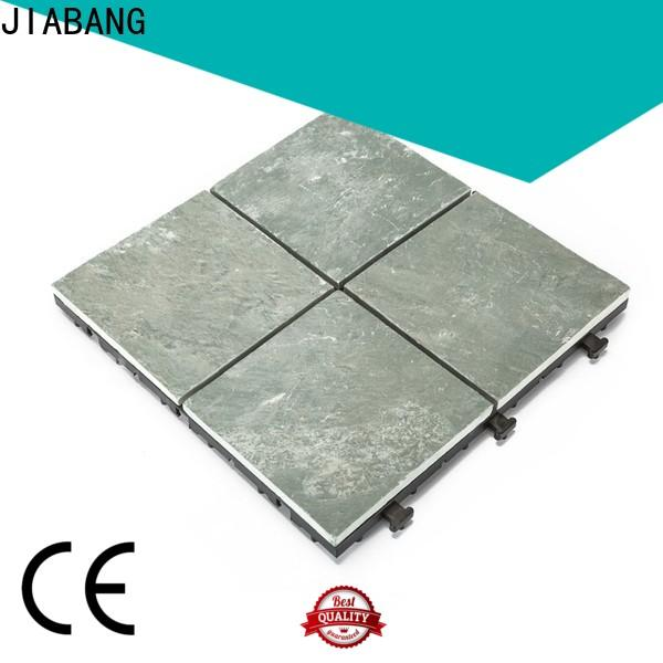 JIABANG interlocking slate tiles basement decoration swimming pool