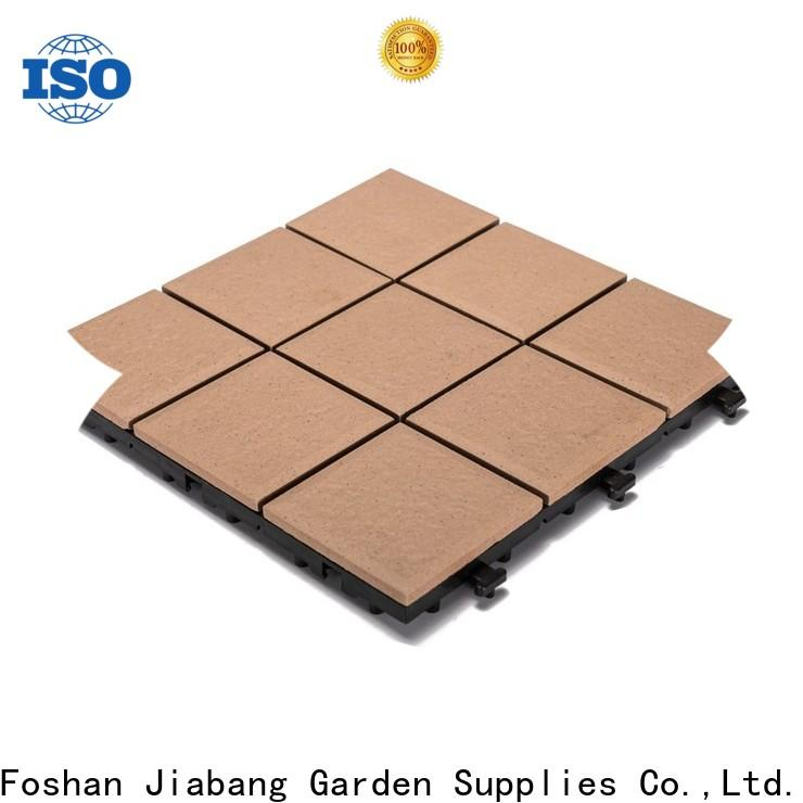 JIABANG OEM porcelain deck tiles free delivery for patio decoration