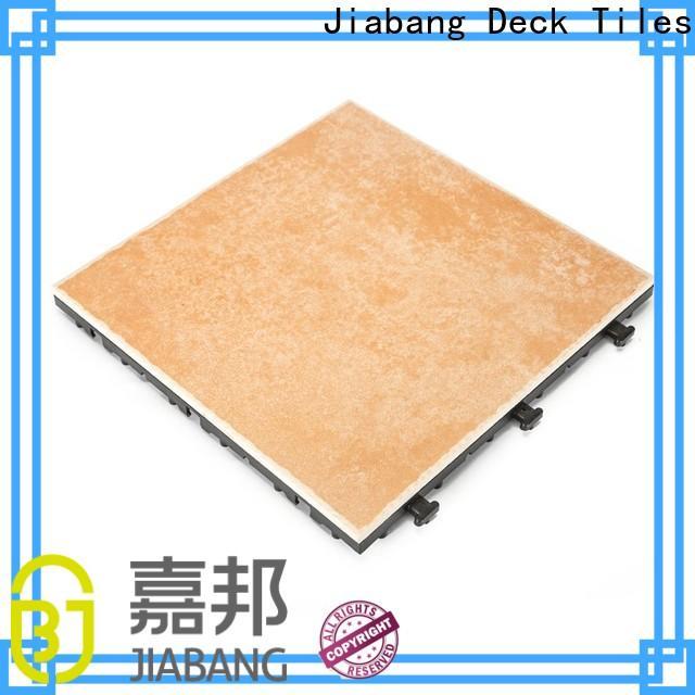 JIABANG durable outdoor floor manufacturer top seller building material