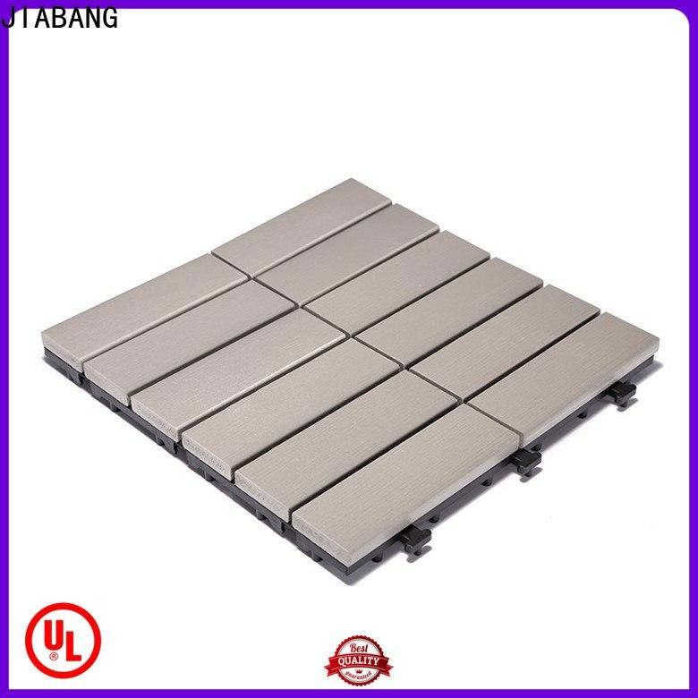 JIABANG durable plastic patio tiles popular gazebo decoration