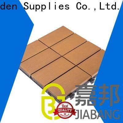 JIABANG high-end outdoor plastic tiles popular gazebo decoration