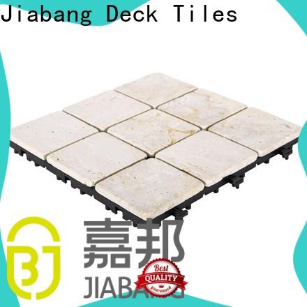 JIABANG limestone polished travertine tile at discount for playground