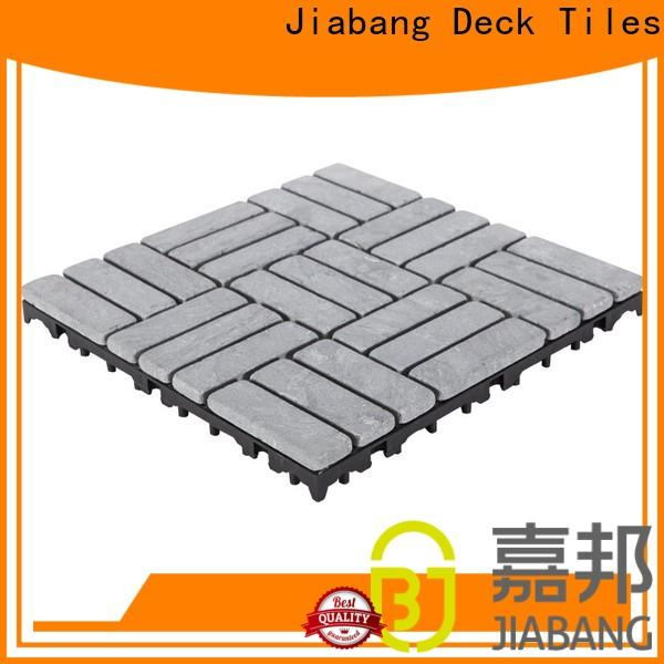 JIABANG limestone travertine stone deck tiles high-quality for garden decoration