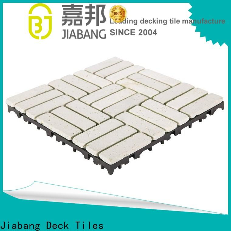 JIABANG hot-sale travertine stone tile wholesale for playground