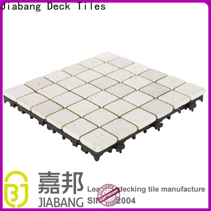 JIABANG natural tumbled travertine tile high-quality for playground