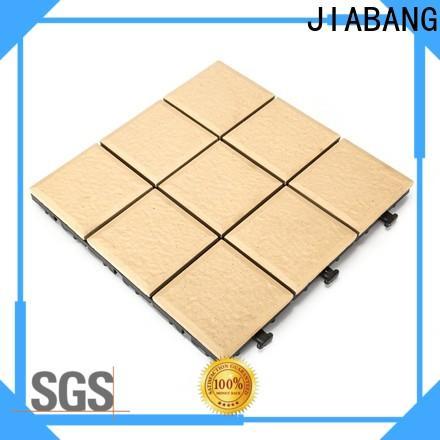 JIABANG OBM porcelain deck tiles custom size gazebo construction