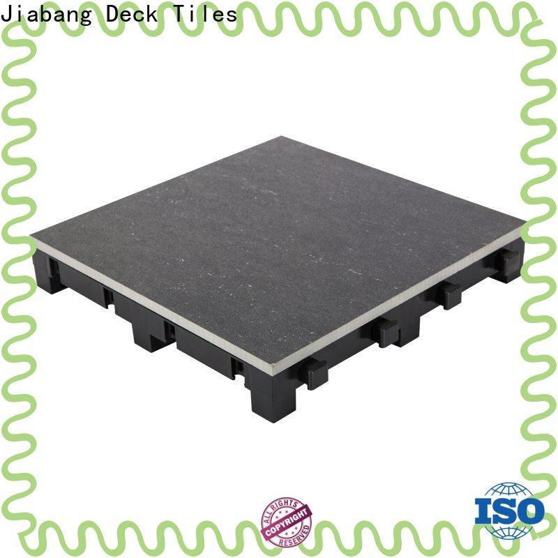 JIABANG interlocking porcelain tile manufacturers roof building construction building material