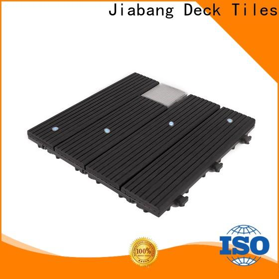 JIABANG wpc snap together deck tiles protective home