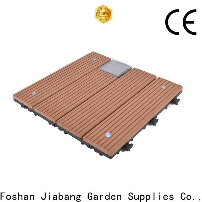 JIABANG wpc square decking tiles home