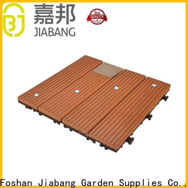 JIABANG wpc patio deck tiles protective home