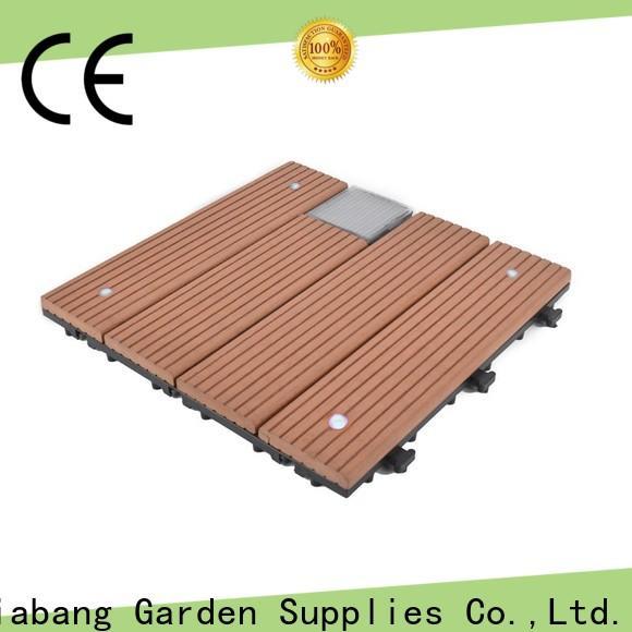 JIABANG wpc modular decking panels decorative home