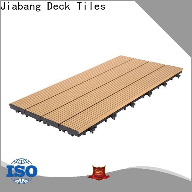 JIABANG garden decking tiles light-weight for customization