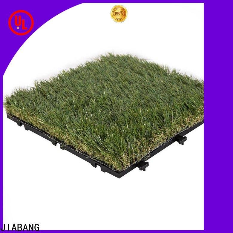 JIABANG grass artificial grass tiles easy installation for customization