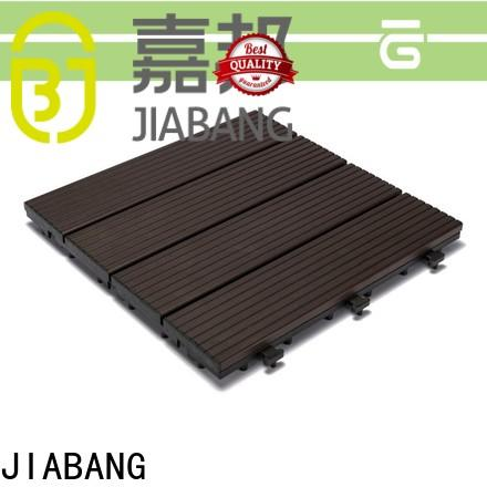 JIABANG low-cost garden decking tiles popular for wholesale