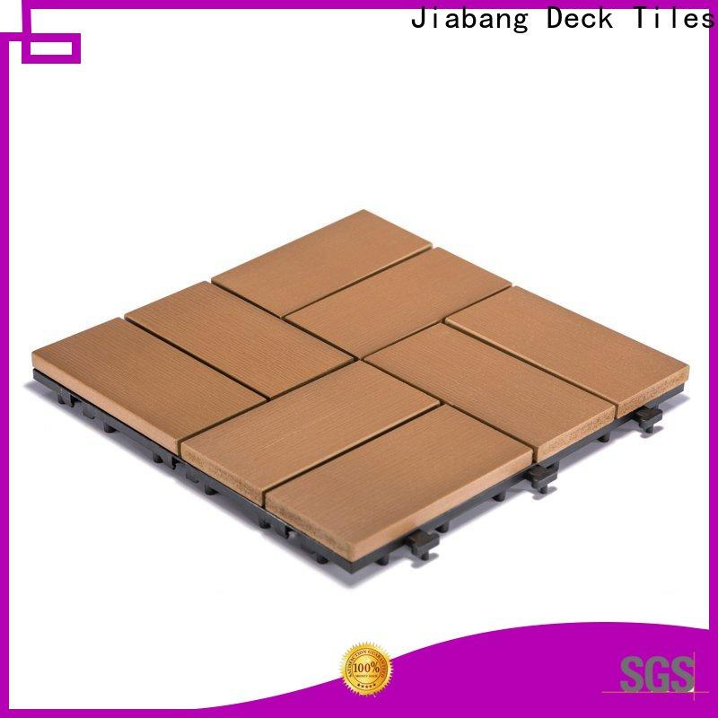 JIABANG high-end plastic tiles for outside high-quality gazebo decoration