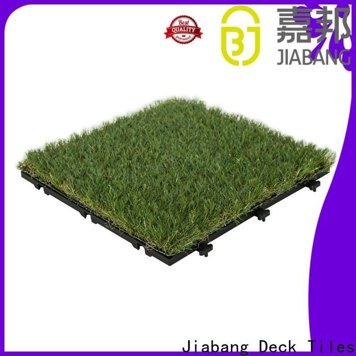 JIABANG landscape floor tiles factory artificial grass path building