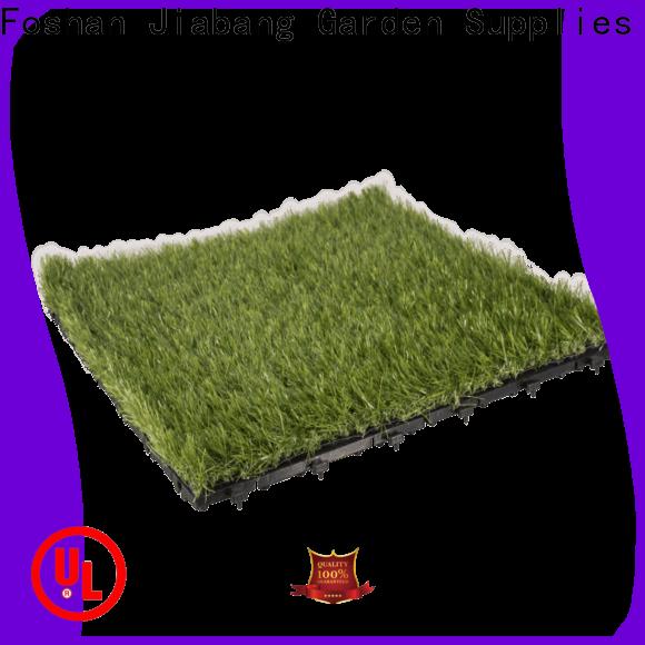 JIABANG landscape grass deck tiles artificial grass garden decoration