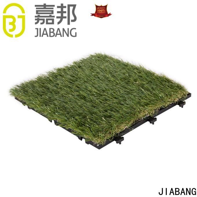 JIABANG grass artificial grass tiles easy installation for garden