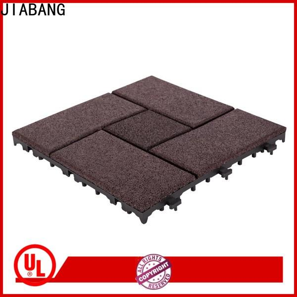 JIABANG flooring rubber gym mat tiles low-cost for wholesale