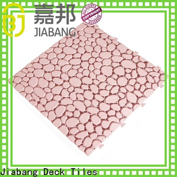 JIABANG plastic garden tiles non-slip
