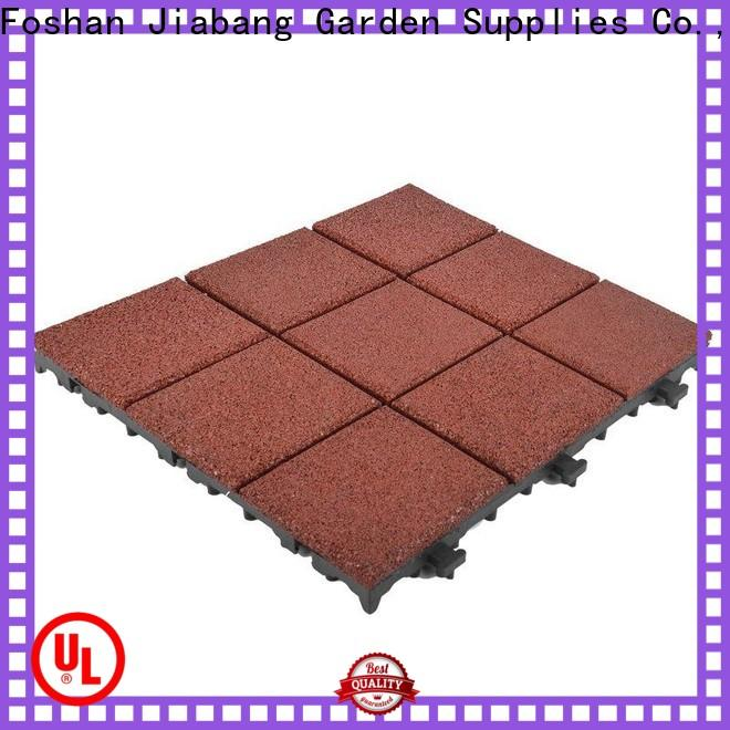 hot-sale interlocking rubber gym mats playground low-cost at discount