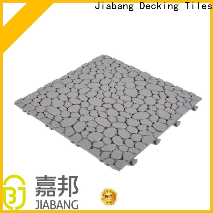 JIABANG hot-sale plastic garden tiles high-quality kitchen flooring