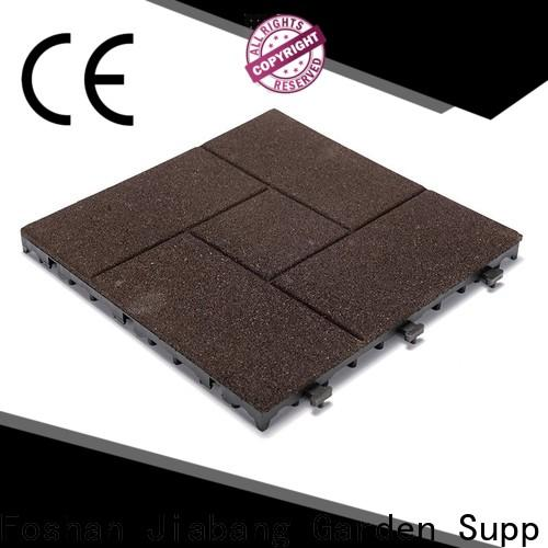 JIABANG composite interlocking rubber tiles for gym cheap for wholesale