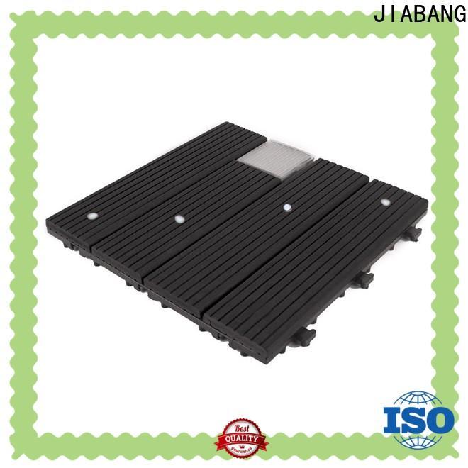 durable square decking tiles eco-friendly protective garden lamp