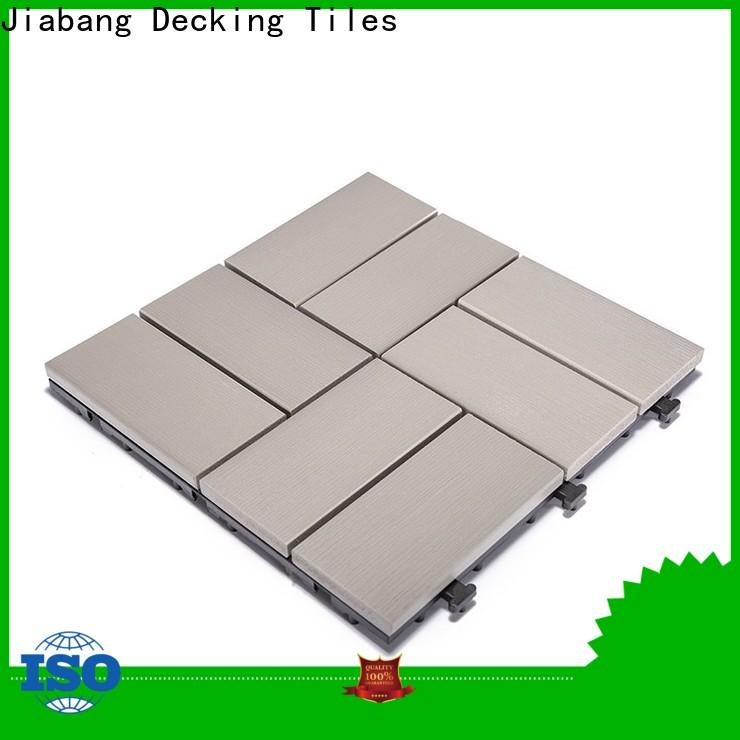 JIABANG light-weight plastic wood manufacturers high-quality garden path