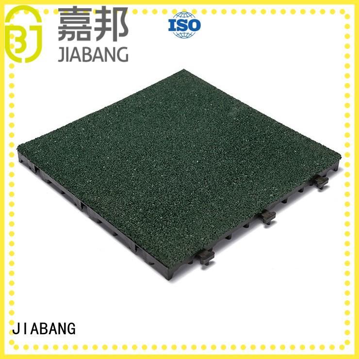 JIABANG flooring rubber gym tiles cheap house decoration