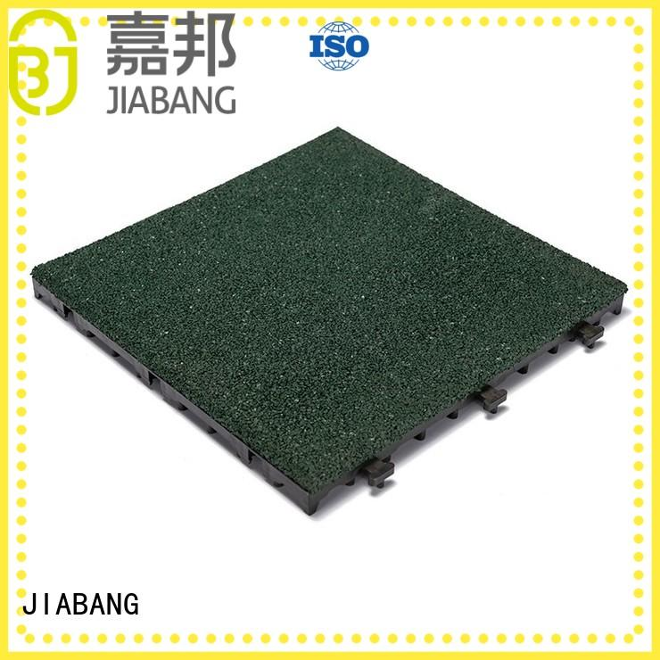 JIABANG flooring rubber gym tiles cheap house decoration