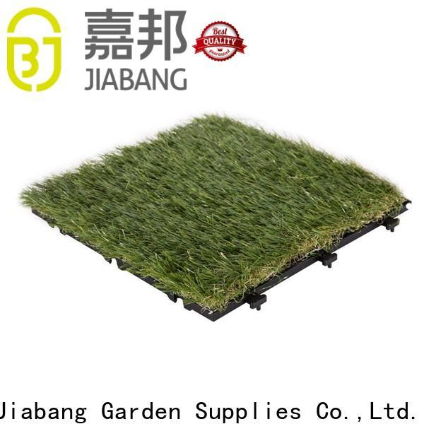 JIABANG chic design artificial grass squares hot-sale for garden