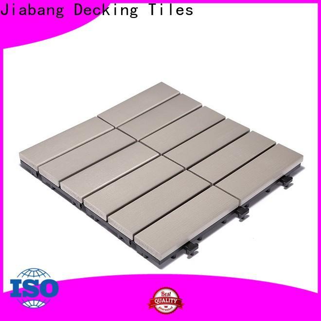 high-end plastic patio flooring tile light-weight anti-siding gazebo decoration
